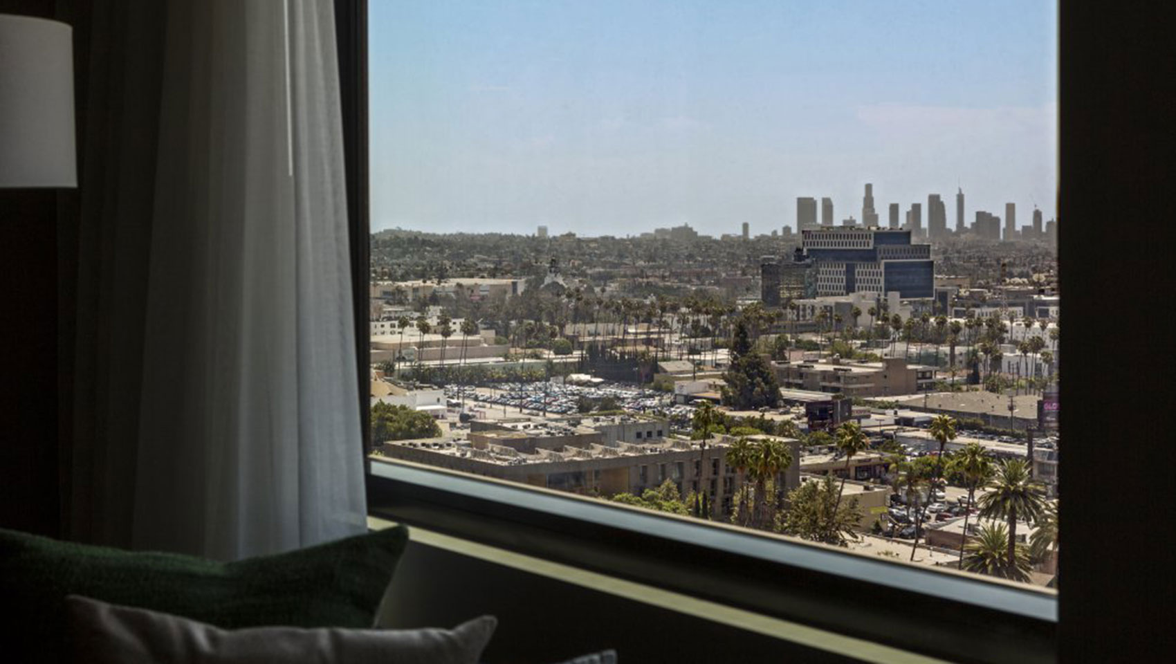 The Kimpton Everly Hotel hollywood guestroom view